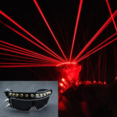 LED sunglasses Bar party Prince nightclub laser glasses dance evening singers perform DJ stage light emitting laser glassesLED sunglasses Bar party Prince nightclub laser glasses dance evening singers perform DJ stage light emitting laser glasses