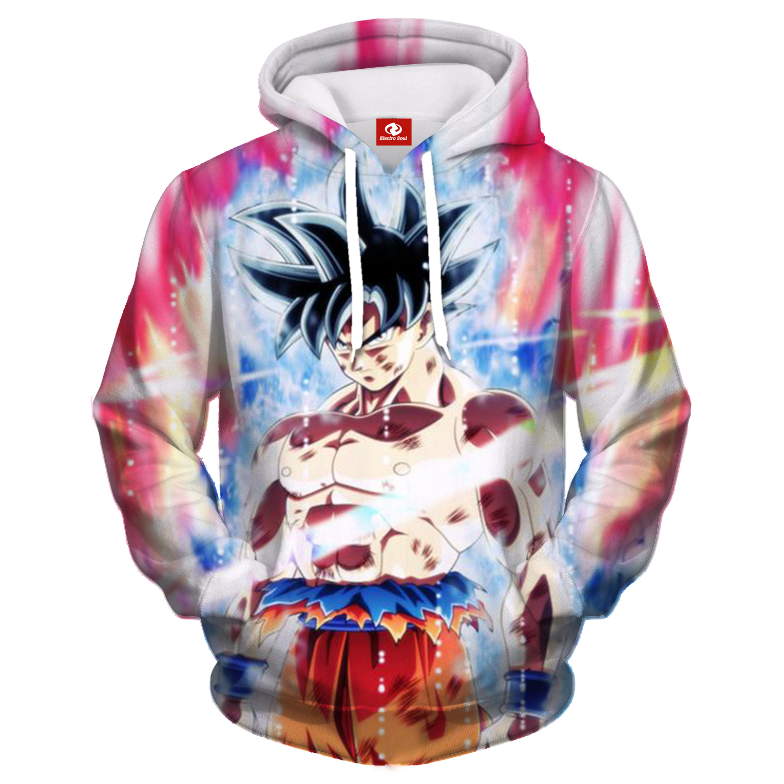 Electro Soul Thin Hooded Hoodies Tops Autumn Winter New 3d Print Hoodie Spider-man Cool Print Hoodie Hip Hop Fashion Style
