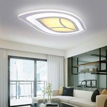Moderne Einfache Led Wohnzimmer Deckenleuchte Warme Baum Bltter Unter Schlafzimmer Leuchtet Ultradnne Acryl Lichter Kinder Lam