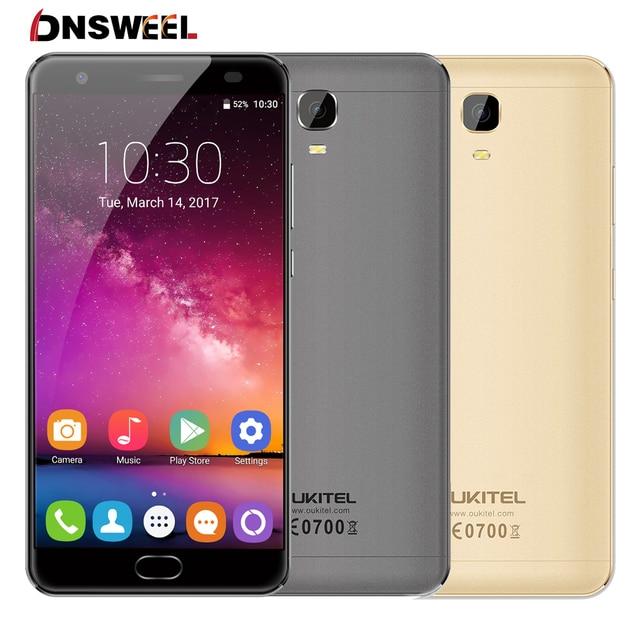 "Oukitel K6000 PLUS 4G Cell phone 5.5"" FHD MTK6750T Octa Core Android 7.0 smartphone 16MP+8MP 4GB+64GB 6080mAh Fingerprint Mobile"
