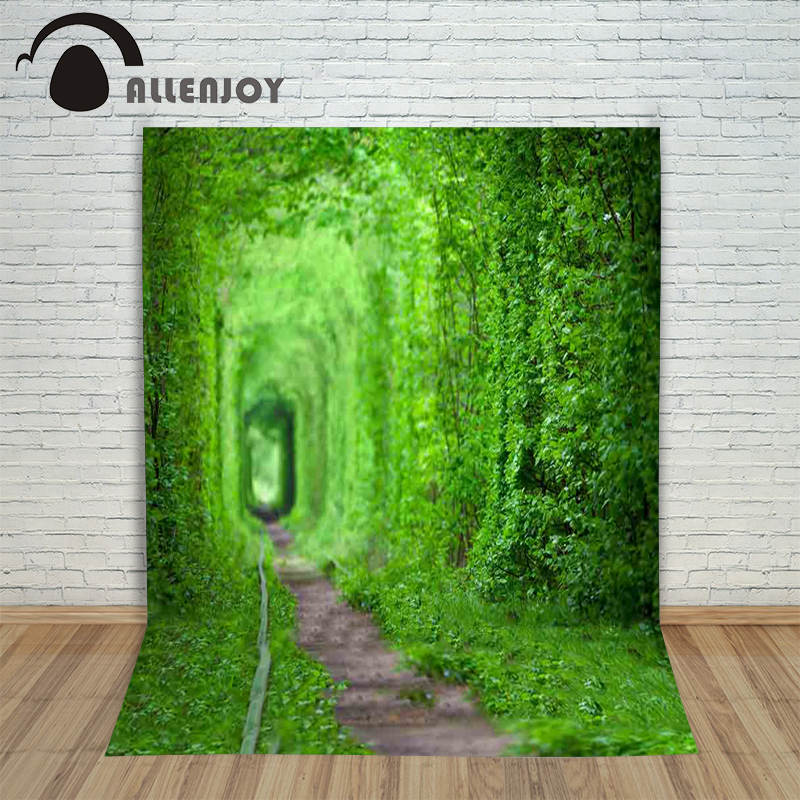 Allenjoy Photo Background photography backdrop Grass landscape Natural green newborn photographic picture for the studio 150cm  allenjoy photographic background castle butterfly purple stars newborn photography photo for studio send rolled wood
