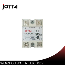цена на SSR -100DD DC control DC SSR white shell Single phase Solid state relay 100A input 3-32V DC output 5~60V DC