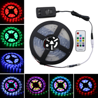 UL Listed 2811 LED Strip Lights 5M 150LED Flexible Rope Ribbon Light, Waterproof Bar Club Indoor Decoration Light with RF Remote