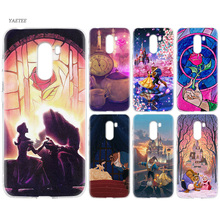 Print Silicone Back Case For Xiaomi Pocophone F1 Mi 8 lite Play Redmi