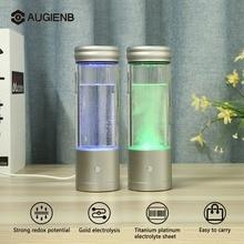 Augienb 350 мл водород богатая вода ионизатор бутылок генератор здоровая Антивозрастная USB водородная бутылка для воды Щелочная вода ионизатор