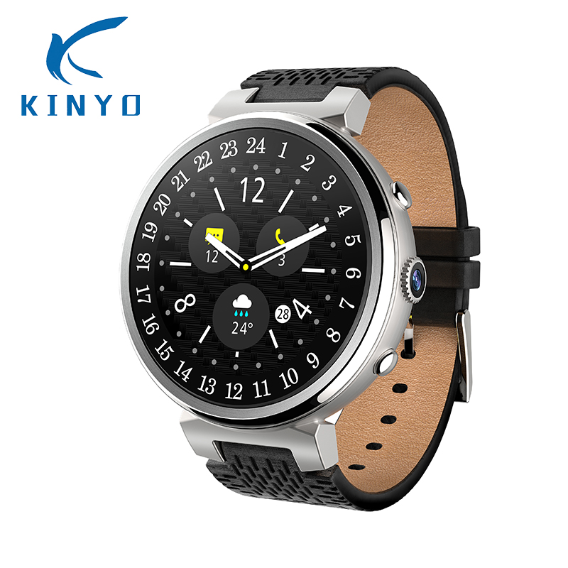 3G WiFi GPS Smart Watch Android 5.1 MTK6580 Quad Core 2G 16G SmartWatch with 2.0MP Camera Support heart rate monitor Nano SIM kw88 smart watch android 5 1 os quad core 400 400 smartwatch mtk6580 support 3g wifi nano sim card gps heart rate wristwatch