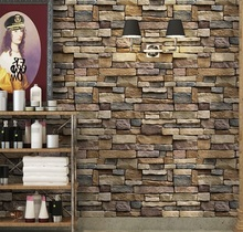 Waterproof Stone Brick Self adhesive Decal for Living Room Bedroom Bathroom Kitchen Decor