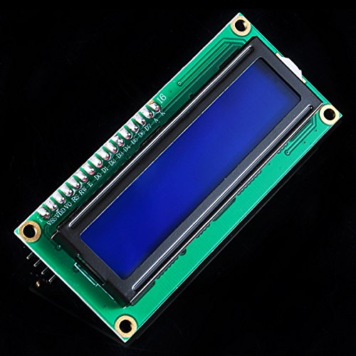 Best Price <font><b>LCD1602</b></font> Character LCD <font><b>Module</b></font> Display 1602 16X2 5V Blue screen For HD44780 Controller Arduino DIY UNO R3 Free Shipping image
