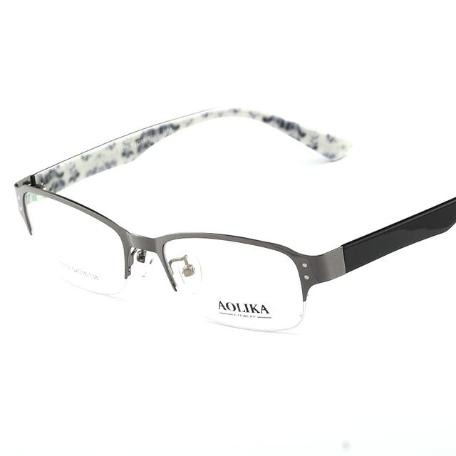 2016 homens de óculos vidros Ópticos quadro miopia espetáculo de quadros lentes opticos armacao de oculos de grau