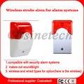 G90B siren with sound&light wireless Flash siren indoor Wireless strobe Siren  for PSTN WIFI,GSM home secuirty alarm systeme
