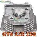 JIA Motor - CYLINDER HEAD GY6 125 150CC 157QMJ 152QMI MOTORCYCLE PARTS SCOOTER PARTS Cylinder Head for GY6 150cc Scooters, ATV