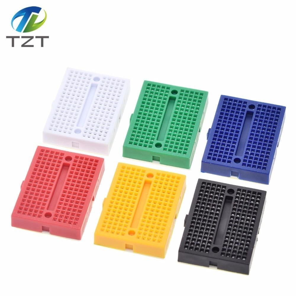 5 Color Mini Solderless Prototype Shield 170 Tie-points Breadboard for Arduino