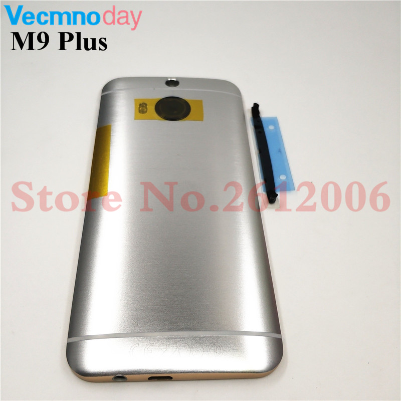 New Metal Rear Housing Door For <font><b>HTC</b></font> <font><b>One</b></font> <font><b>M9</b></font> Plus Back <font><b>Battery</b></font> Cover <font><b>Case</b></font> with Volume + Power Button + Camera Lens Assembly image
