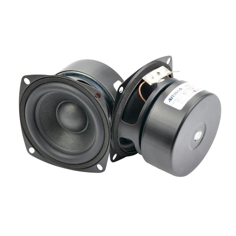 AIYIMA 2Pcs 3Inch Altavoces de rango completo 4Ohm 15W Altavoz - Audio y video portátil - foto 3