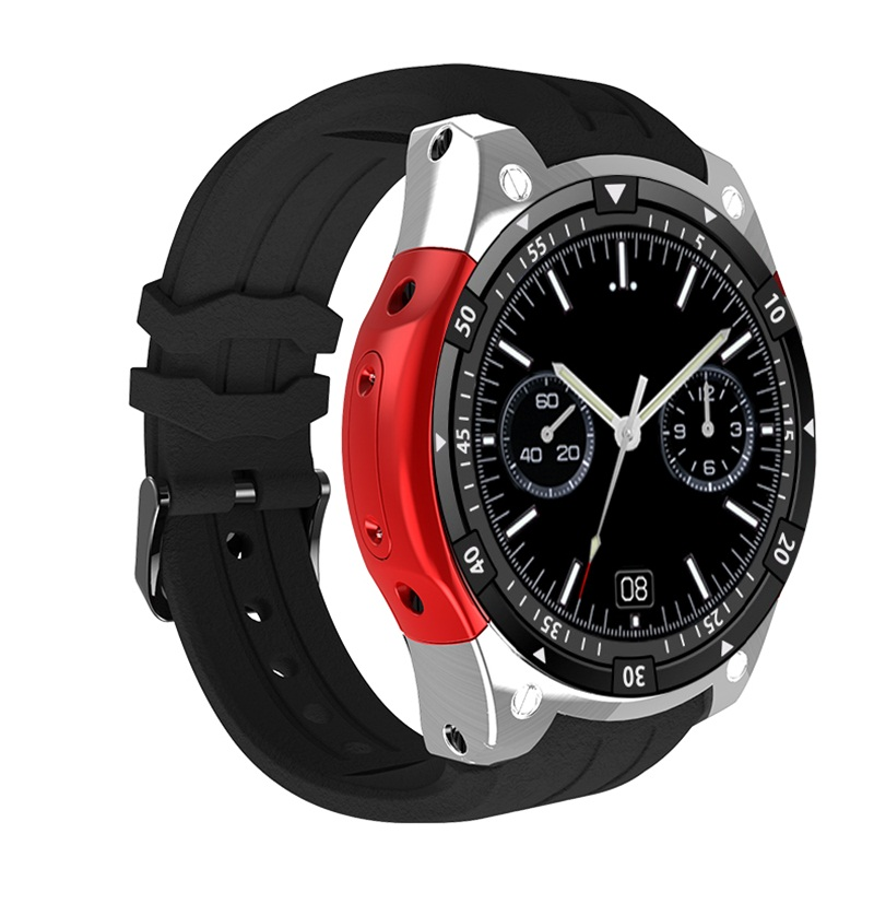 Hot <font><b>X100</b></font> smart watch Android 5.1 OS Bracelet <font><b>Smartwatch</b></font> MTK6580 1.3