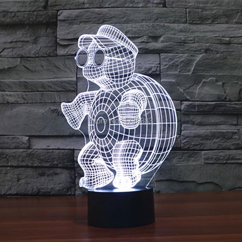 little tortoise 3D Night Light