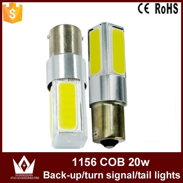ФОТО Guang Dian 10pcs 30pcs 50pcs 100pcs car light LED Brake Parking bulb reverse lamp turn signal light Tail light P21W 1156 ba15s