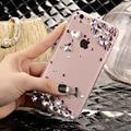 Luxo diamond case bling rígido case capa do telefone capa funda para samsung galaxy j3 j5 j7 2016 a3 a5 a7 s7 s6 edge plus borda