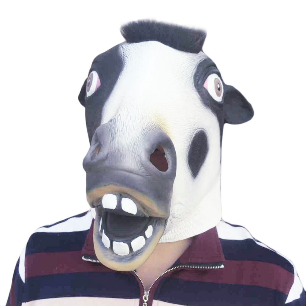 Popular Cow Head Mask-Buy Cheap Cow Head Mask lots from China Cow ...