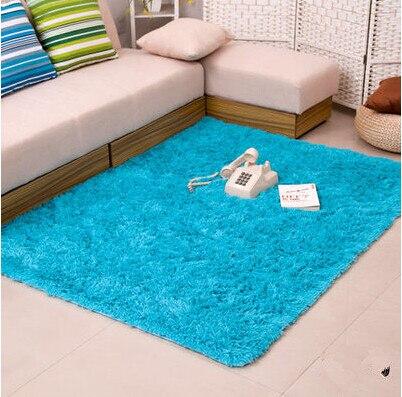 Épais 4.5 cm chaud anti-dérapant tapis et tapis pour salon chambre plancher personnalisé Shaggy chambre tapis - 5