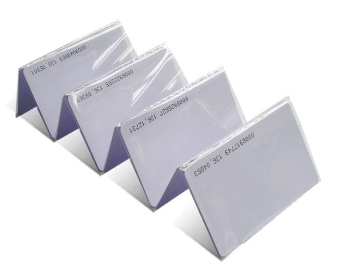 100pcs/lot  RFID EM/ID CARD 4100/4102 reaction ID card 125KHZ RFID Card