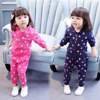 New Autumn Baby Girls Clothing Set Cartoon Mouse Printed Children S Wear Casual Tracksuits Kids Clothing