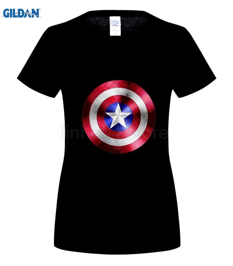 GILDAN Summer men cotton t shirt The Avengers captain america Shield male t shirt tops tees Steve Rogers printing men 39 s T shirt in T Shirts from Men 39 s Clothing