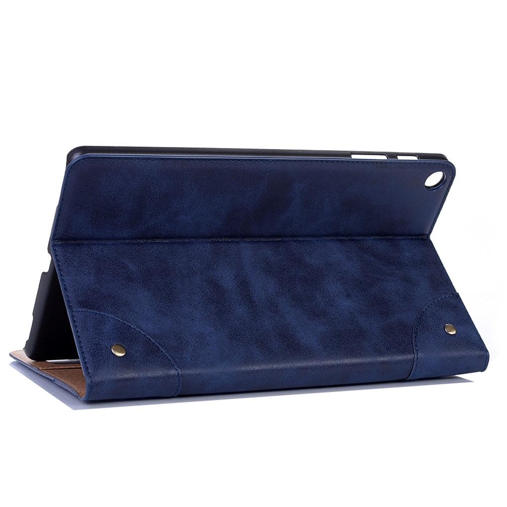 PU Leather Case For Samsung Galaxy Tab A SM-T515/T510 2019 Tablet Case Slim Stand Cover Tablet Case For Samsung Tab A 10.1 2