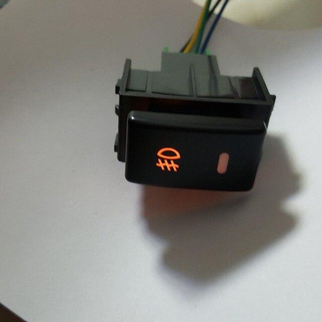 NEW car Gps Recorder Parking sensor Fog light drl switch button for Nissan X-trail Qashqai LIVINA TIIDA TEANA DONGFENG AX7