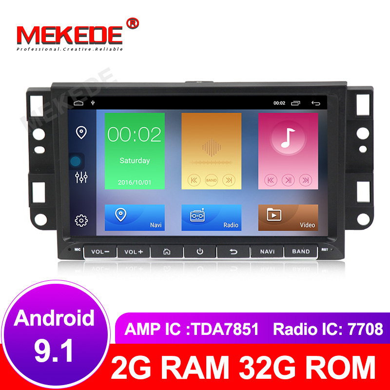 Quad Core Android 8.1 Jogador 9.1 DVD Do Carro Para Chevrolet Aveo Epica Captiva Faísca Optra Kalos Tosca Matiz Rádio GPS áudio Estéreo
