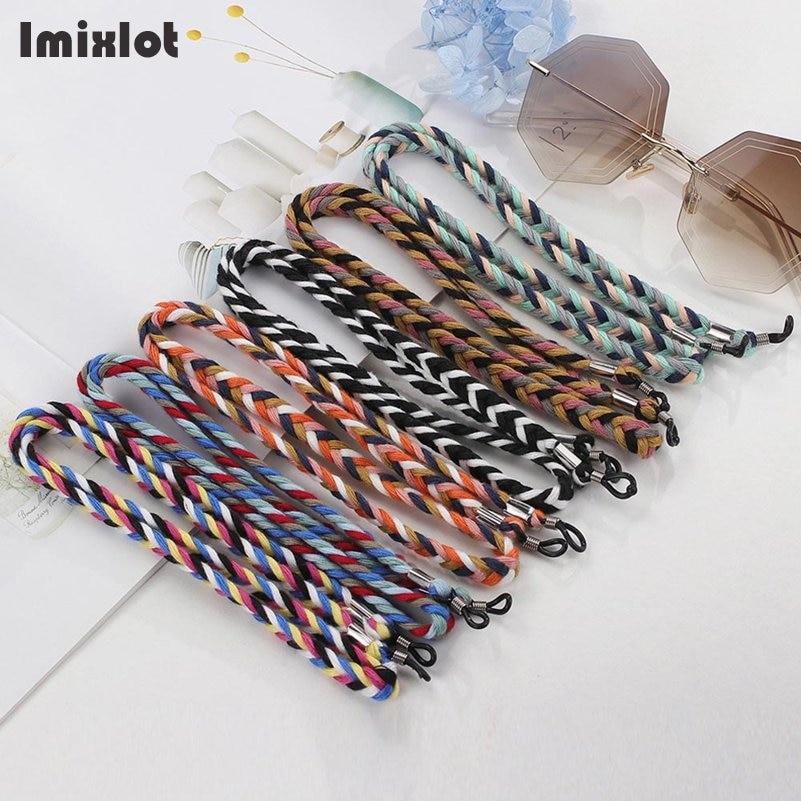 Silver Eyeglass Chain Retro Eyeglasses Strap Holder Sunglasses Cord Holder Sunglasses Chain