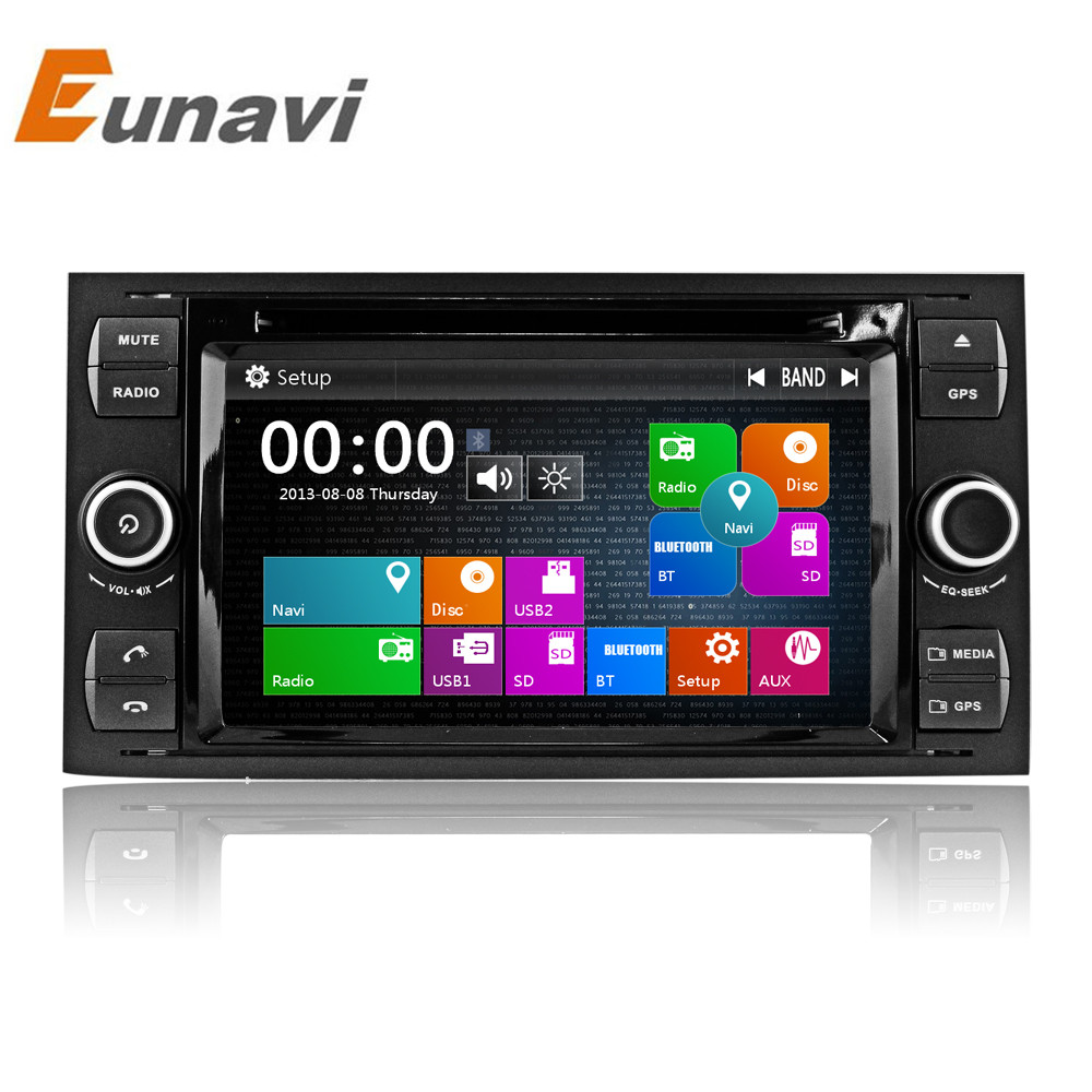 7 inch 2 din car dvd player for ford focus galaxy fiesta s max c max