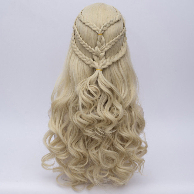 Daenerys Targaryen Cosplay Wig 5