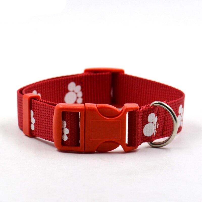 3 Colores Calidad Pequeño Cachorro de Gato Reflexivo Perro Collar Del Animal Dom