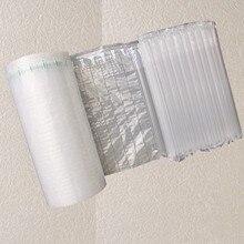 Длина 10 м полиэтиленовая воздушная пузырчатая колонна посылка PouchPuff Надувная сумка Экспресс-упаковка подушка безопасности анти-давление Противоударная сумка для хранения