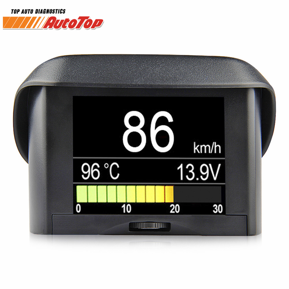 OBD2 Car Computer Board Display Digital Onboard Computer Driving Gauge Fuel Consumption Speedometer Coolant Temperature Display conspicuous consumption
