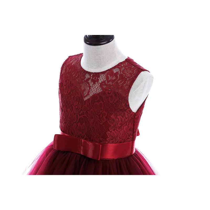2ab4aab9644 ... A-line kids dresses girls long style party dress 2 colors 8 10 12 14 ...