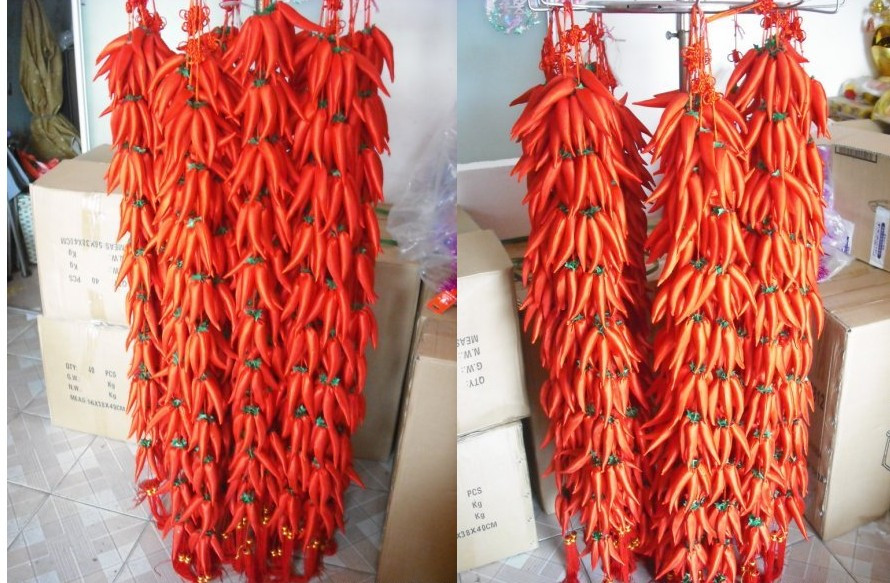 Festive Red Chili String Decoration Pepper 50 On Aliexpress Alibaba Group