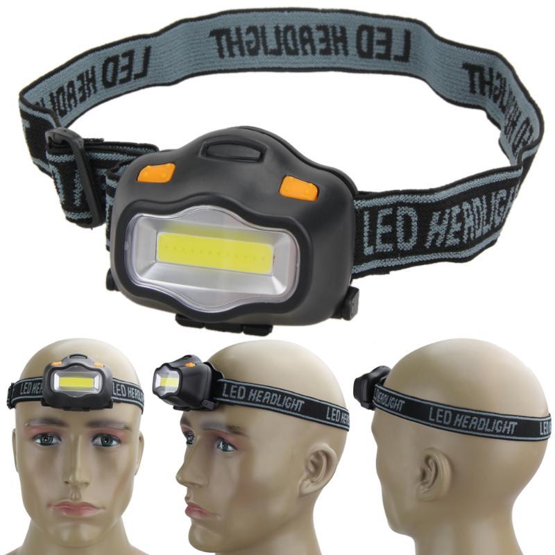 Outdoor Lighting Head Lamp 12 Mini COB LED Headlight For Camping Hiking Fishing Reading Activities White Light Flash Headlamp