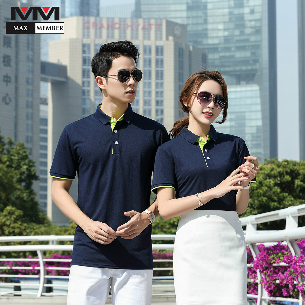 Hotel Waiter Uniforme Cleaning Men Women Hotel Uniformes Para Limpeza Wholesale Waitress Pub Bar Polo Collar Shirt Work Custom