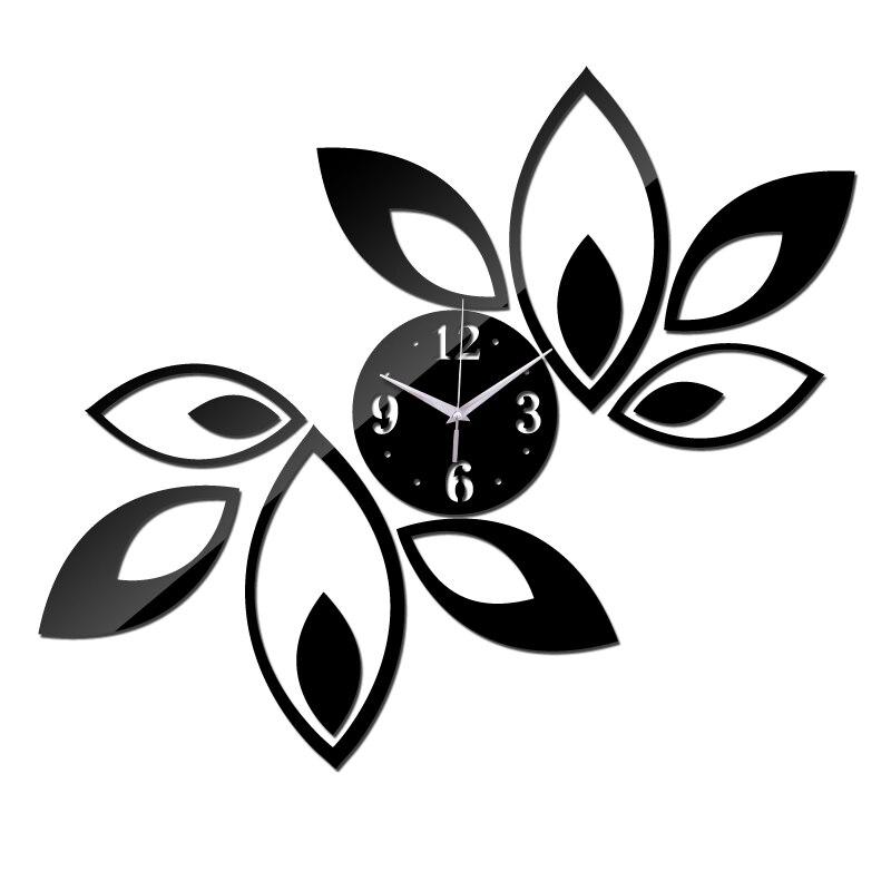 New Acrylic Diy 3d Clock Wall Watch Clocks Reloj De Pared Modern Design Horloge Large Decorative Living Room Quartz Europe