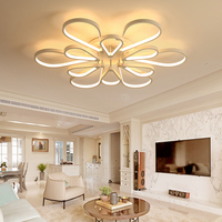 Modern Surface Mounted Modern Led Ceiling Lights For Living Room Luminaria Led Bedroom Fixtures Indoor Home