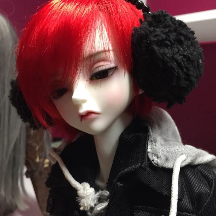 OUENEIFS пик дерево белый кролик PW 1/3 BJD SD кукла каучуковые фигурки модель тела для девочек и мальчиков высокое качество игрушки магазин Вудс пик...