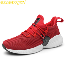 2019 High Quality Men Sneakers Lace Up Spring New Cushioning Sport Shoes Men Black Red Gray Male Adult Running Shoes for Man 2017 cushioning running shoes men spring autumn pu leather light lace up breathable brand man sneakers