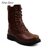New High Quality Genuine Leather Autumn Men Boots Winter Waterproof Ankle Boots Outdoor Working Boots Men Shoes