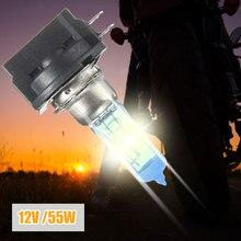Vehemo H11B белый 12 В 55 Вт Авто Светодиодный светильник головной светильник супер яркий светильник ing в сборе противотуманный светильник s автомобильная лампа
