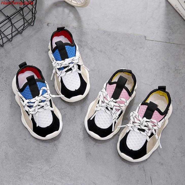 64258061d ... HaoChengJiaDe/новая детская обувь для девочек и мальчиков, кроссовки  для детей, дышащая Спортивная ...