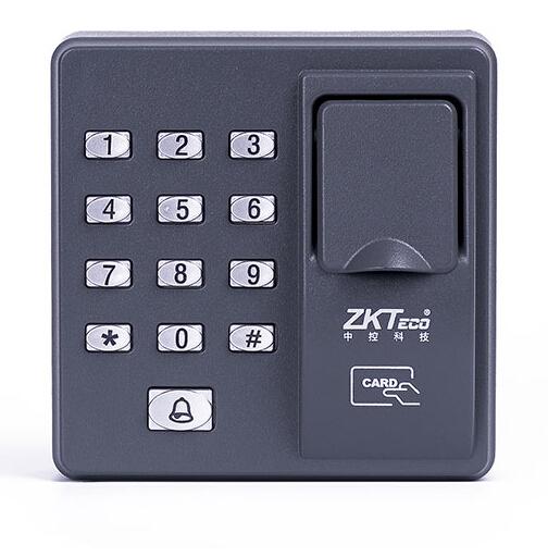 Elétrica Máquina de Controle de Acesso Biométrico de impressão digital Sensor de Código do Scanner Leitor RFID Sistema De Porta de Bloqueio