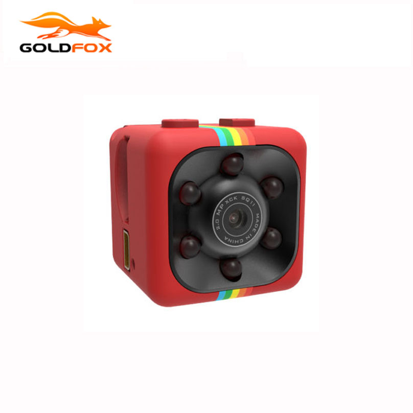 Galleria fotografica Goldfox SQ11 Mini Camera HD Camcorder Night Vision Mini Camera Voice Video Recorder Support 1080P Sports Mini DV Dropshipping