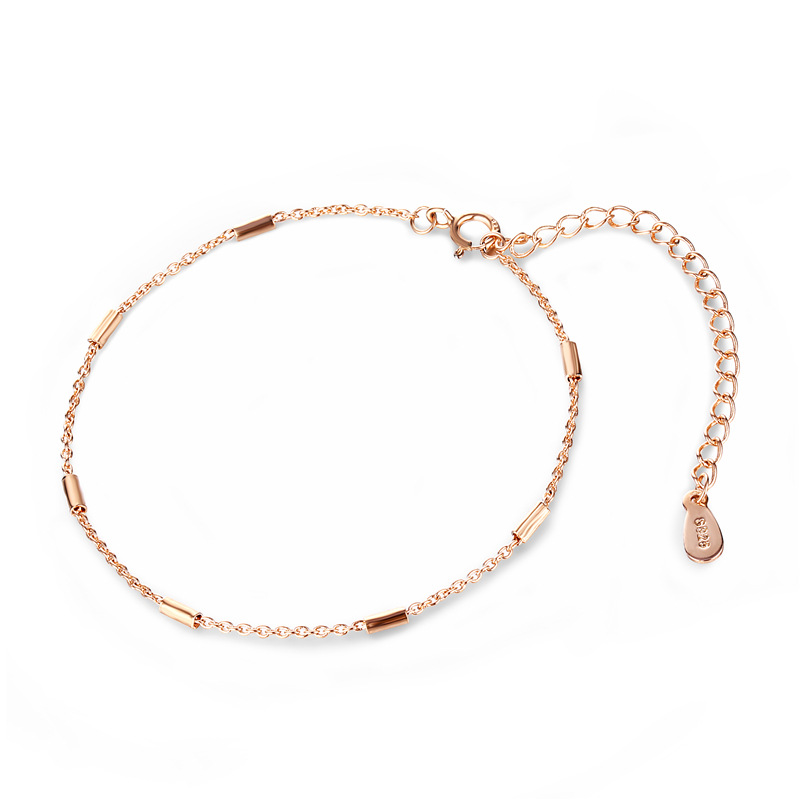 New Fashion Statement Minimalist Design Rose Gold Jewelry Personality Geometric Cuboid Bracelets & Bangles Pendientes
